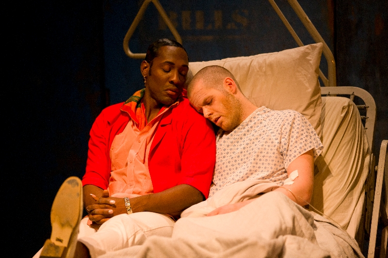 _E1K5410 ANGELS IN AMERICA, PART TWO: PERESTROIKA  BY TONY KUSHNER DIRECTED BY RON VAN LIEU Yale Studio Series  10/6/11  Photograph © T Charles Erickson  http://tcharleserickson.photoshelter.com/